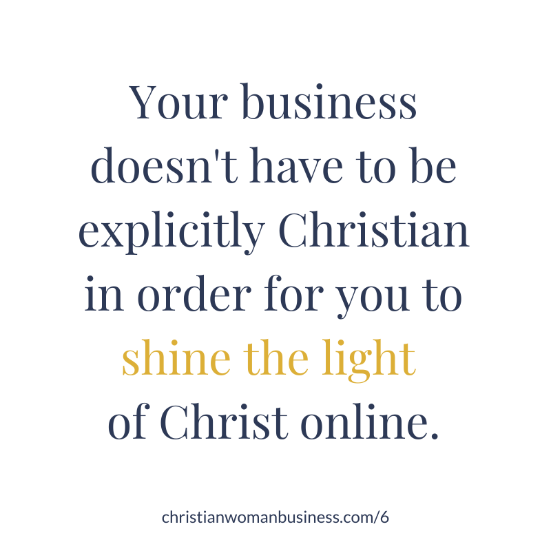 incorporate your faith in your business