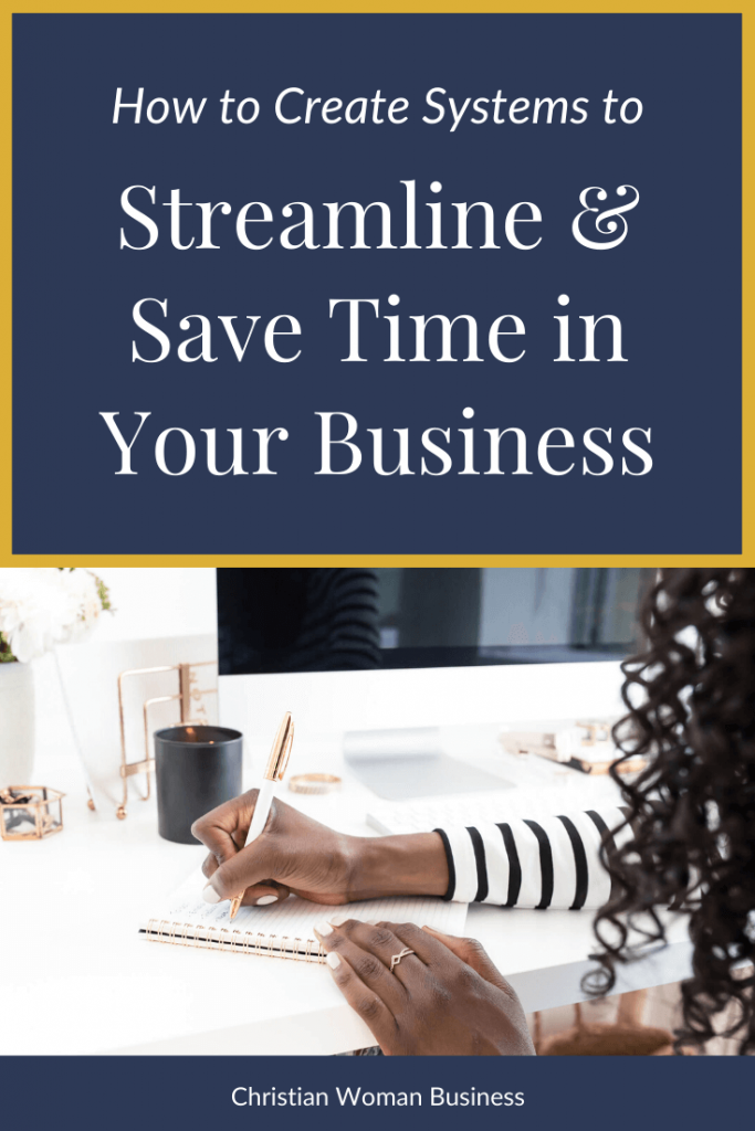 How to Create Systems to Streamline Your Business